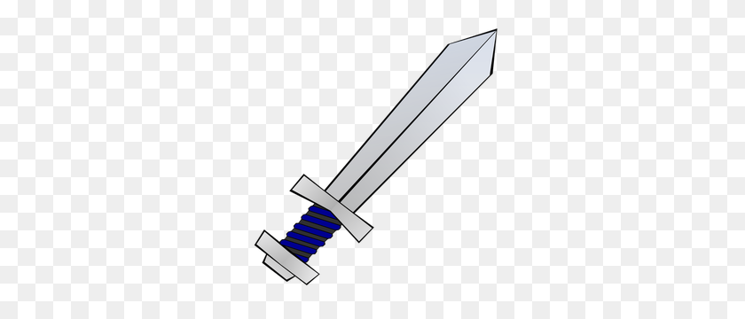 300x300 Medieval Sword Clipart - Medieval Clipart