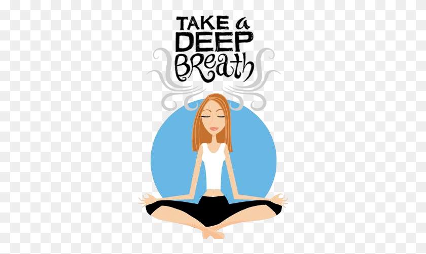 Meditation Clipart Belly Breathing - Meditation Clipart