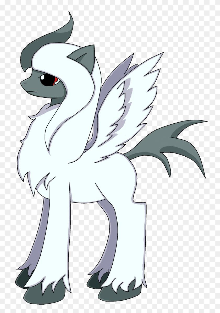 Mega Absol Pony - Absol PNG