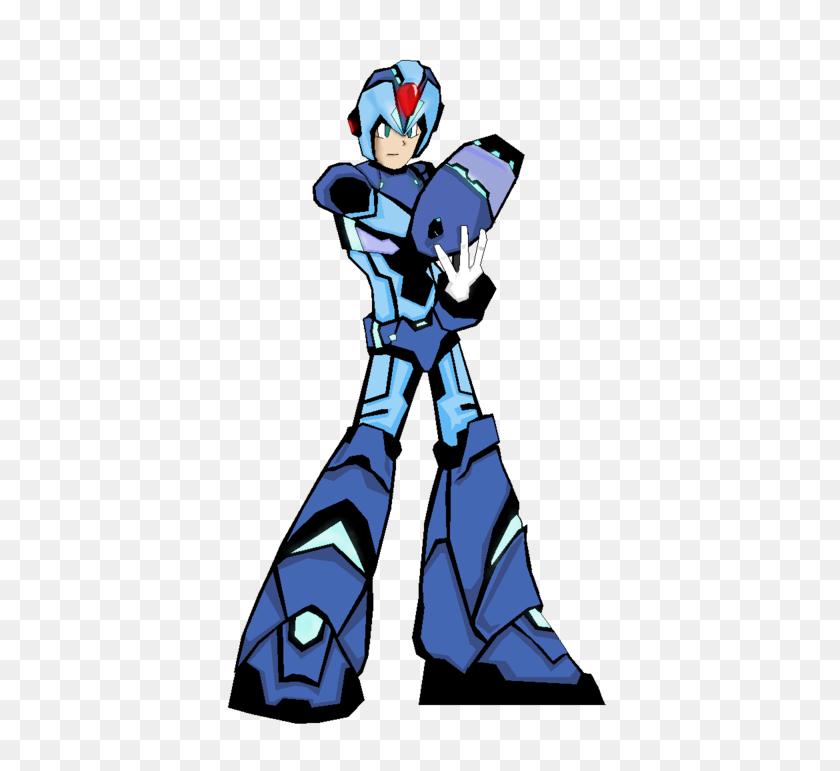 400x711 Mega Man X Ver Ke - Megaman X PNG
