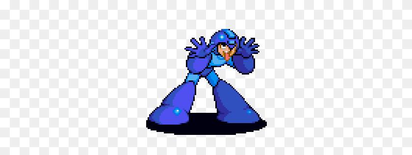 256x256 Megaman P Gamebanana Sprays - Megaman Sprite PNG