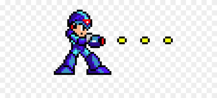 1050x430 Megaman X Pixel Art Maker - Mega Man X PNG