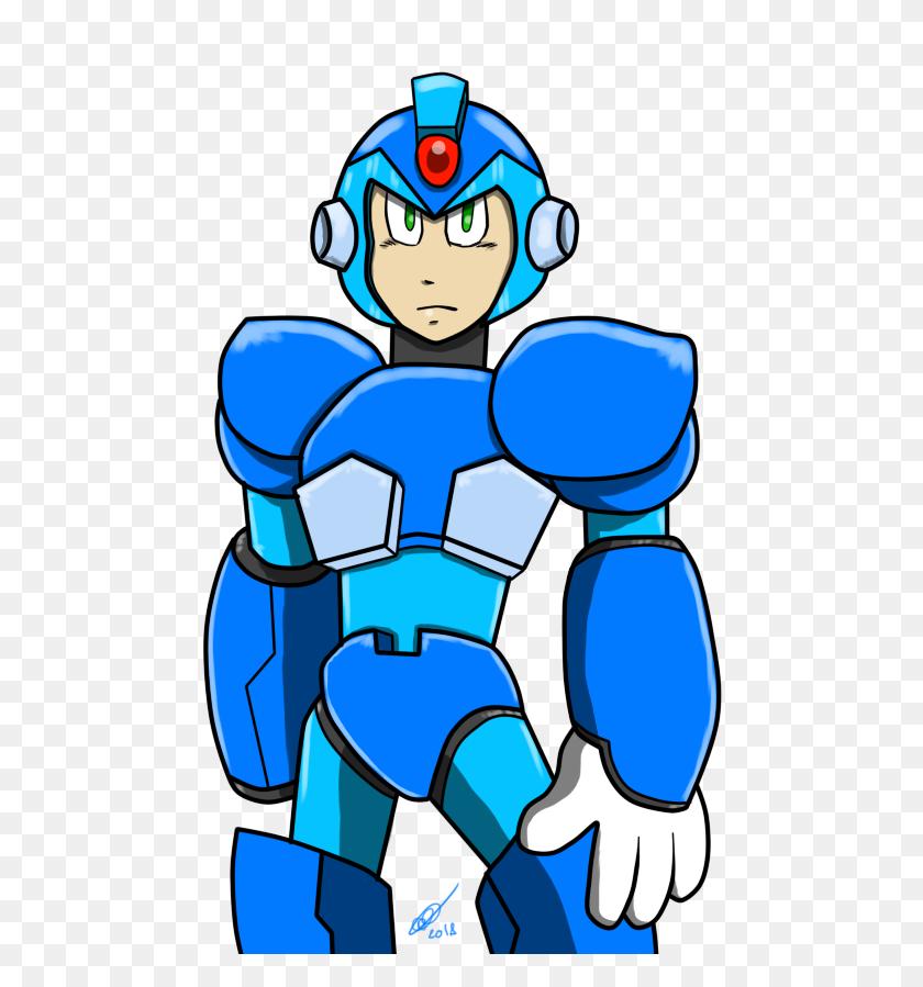 606x839 Megaman X Second Try - Mega Man X PNG