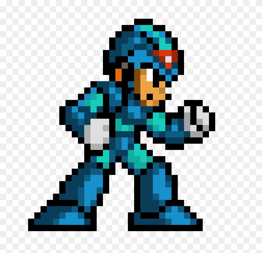 780x750 Megaman X Sprite Pixel Art Maker - Megaman Sprite PNG