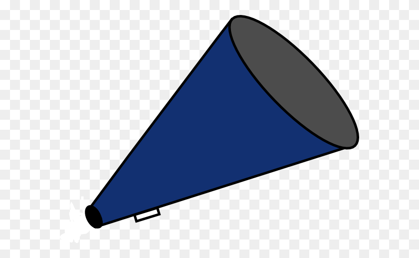 600x457 Megaphone Blue Clip Art - Megaphone Clipart PNG