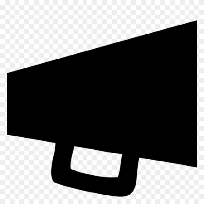 1024x1024 Megaphone Clipart Black And White Free Clipart Download - Megaphone Clipart