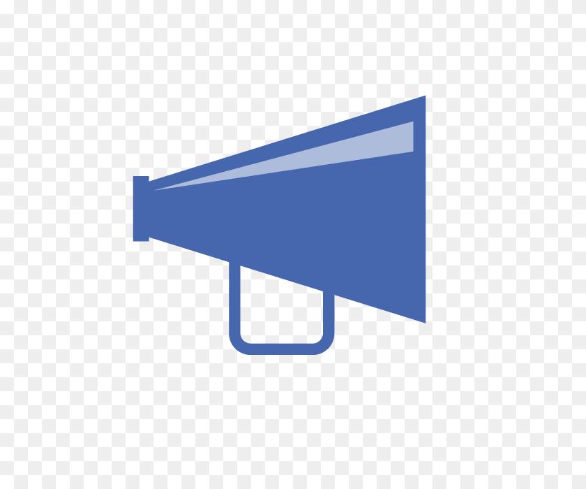 640x640 Megaphone Loudspeaker Free Illustration Clipart Material - Loudspeaker Clipart