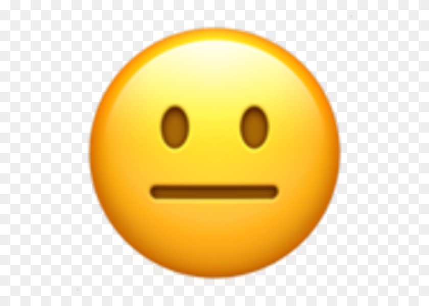 540x540 Meh Emoji Png Png Image - Meh Emoji PNG