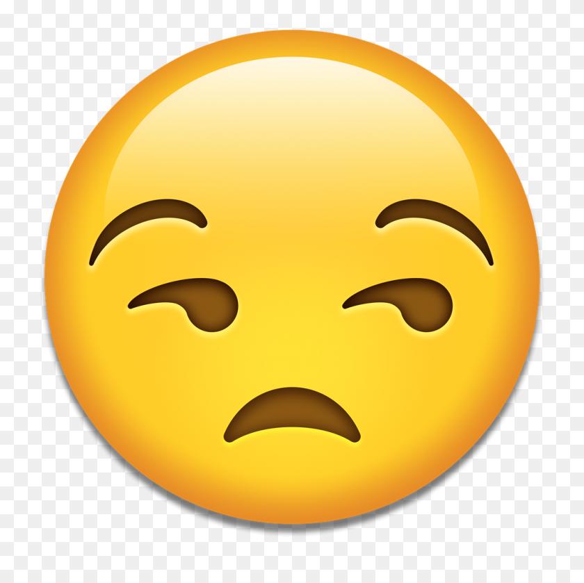 1000x1000 Meh Emoji Png Png Image - Meh Emoji PNG