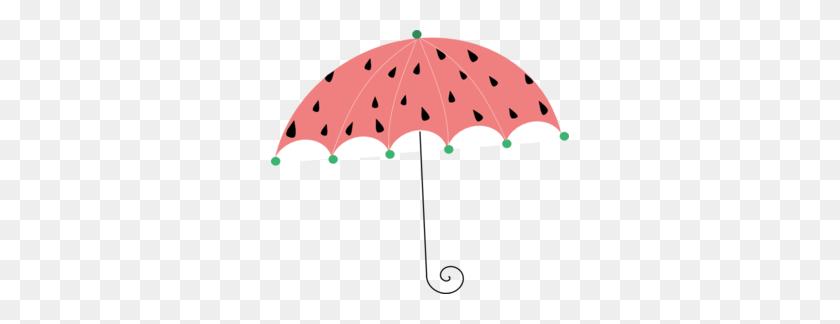 298x264 Melon Clip Art Watermelon Umbrella Clip Art - Melon Clipart