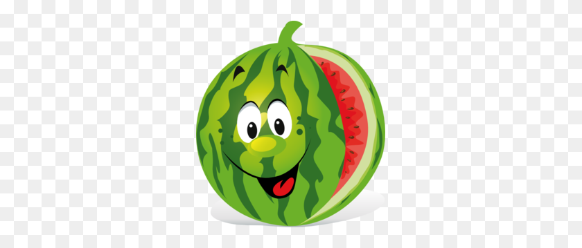 273x299 Melon Clipart Cartoon - Melon Clipart