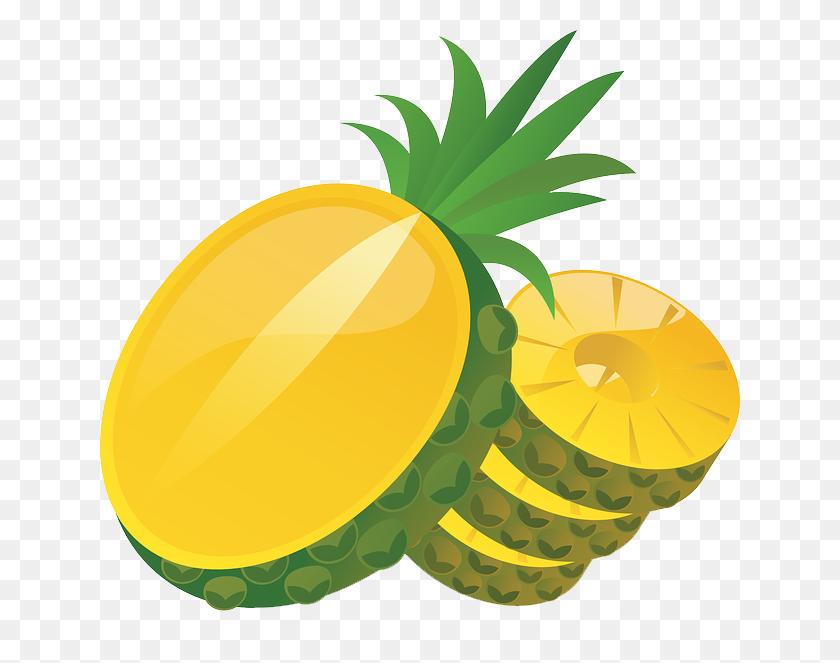 Melon Clipart Pineapple Slice - Apple Slice Clipart