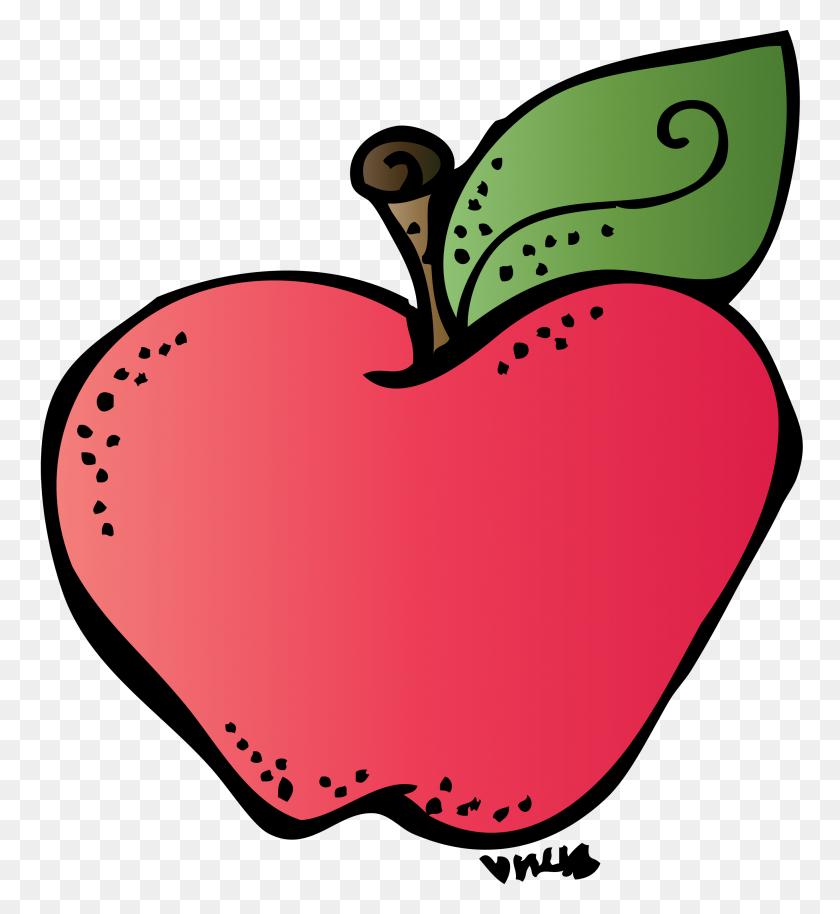 2738x3000 Melonheadz Apple Clipart - Melonheadz Calendar Clipart