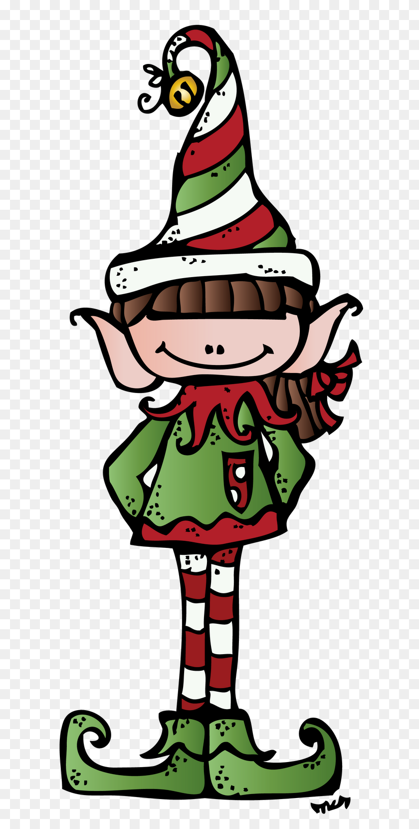 616x1600 Melonheadz Clip Art - Melonheadz Christmas Clipart