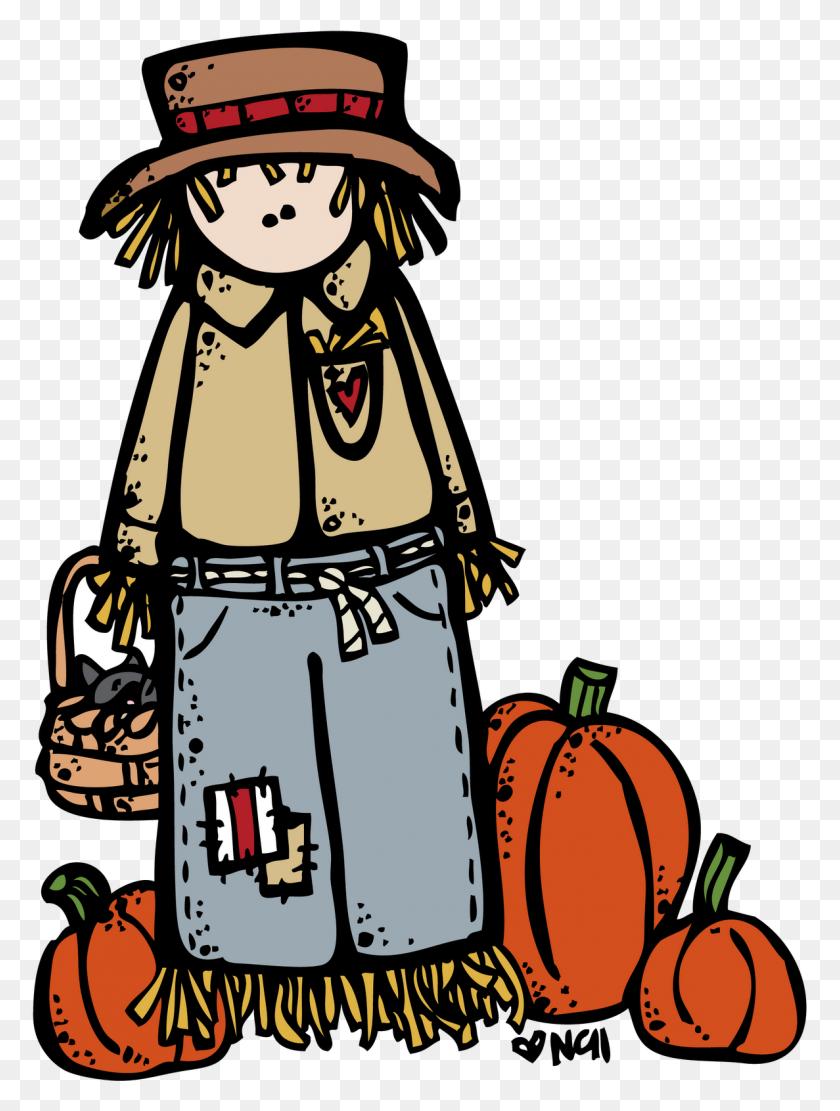 Melonheadz Happy Fall Ya'll! Melonheadz Happy - Melonheadz Fall Clipart