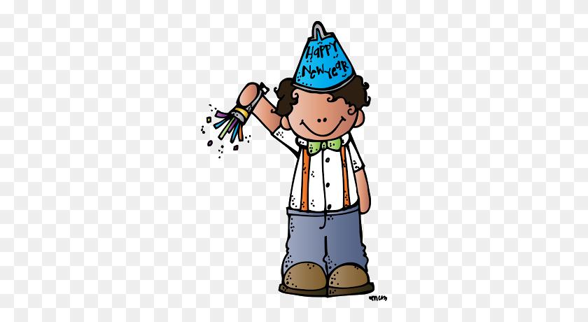 Melonheadz Illustrating Happy New Year!!!! Melonheadz Happy - Happy New Year Clipart