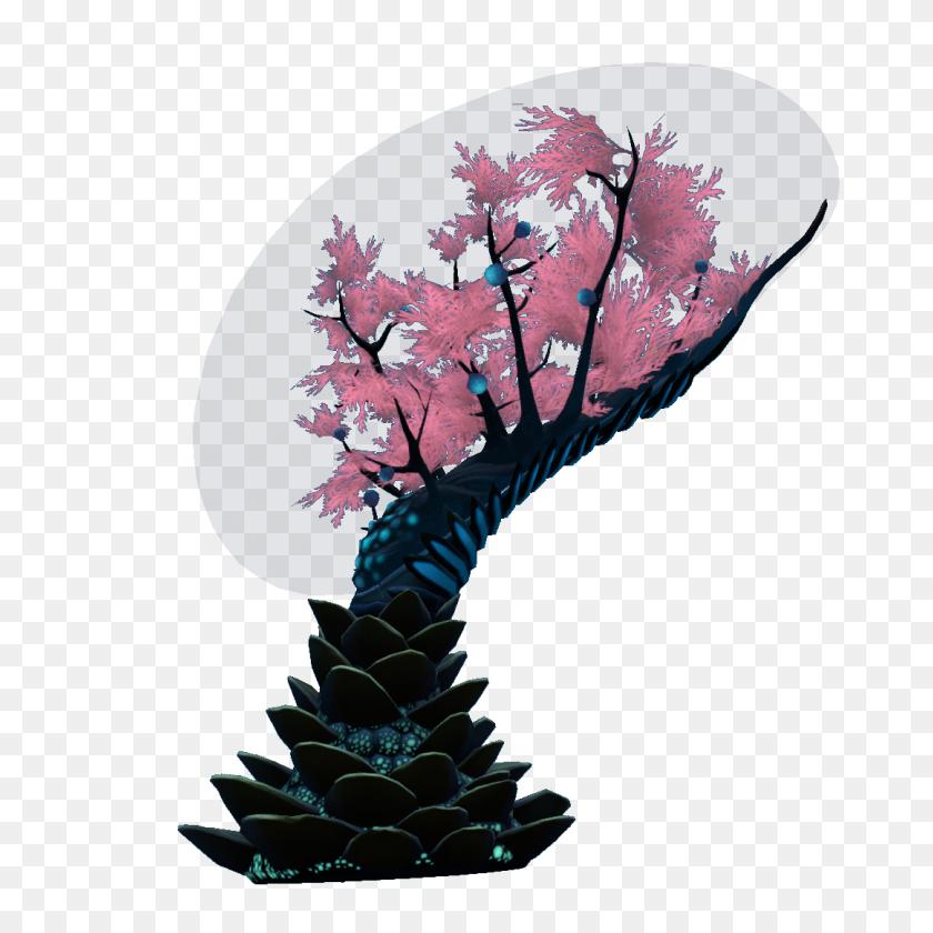 1080x1080 Membrain Tree Subnautica Wiki Fandom Powered - Cherry Blossom Branch PNG