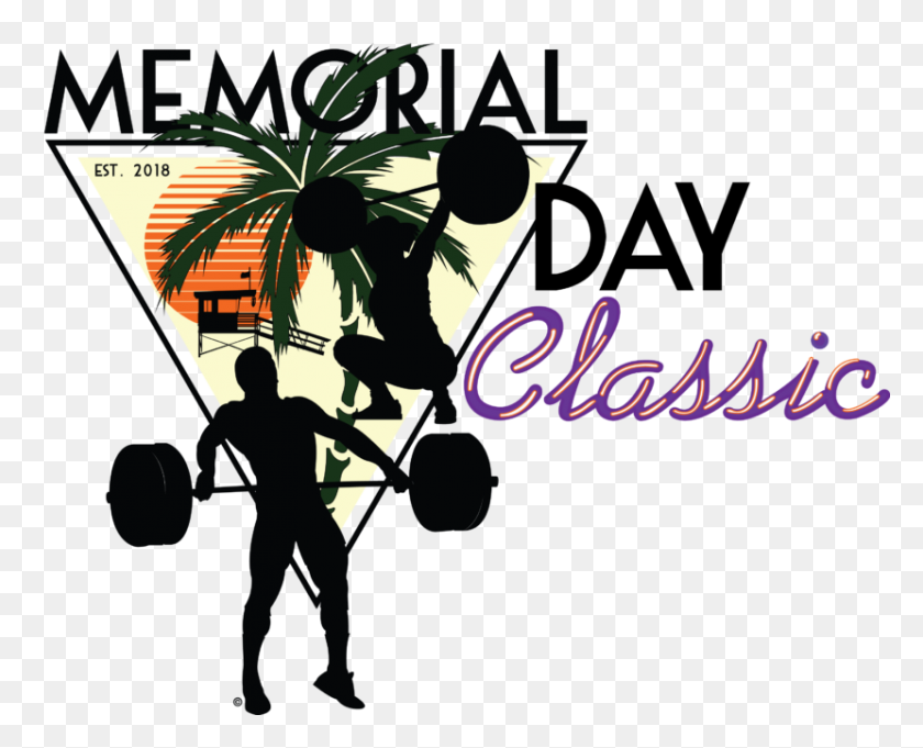 Memorial Day Classic Florida Weightlifting Federation Usa - Memorial Day PNG