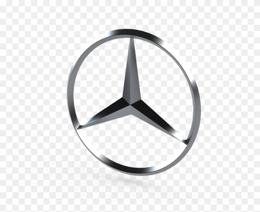 Mercedes Benz Logo Cad Model Library Grabcad - Mercedes Benz Logo PNG