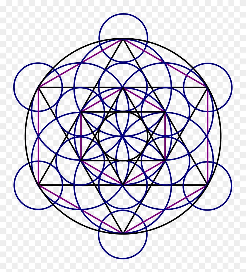 2000x2231 Merkaba Field - Sacred Geometry PNG