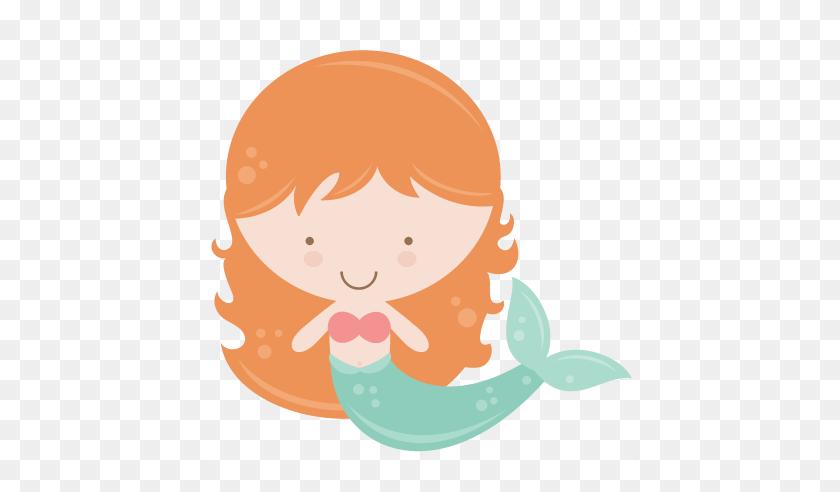 Mermaid Clip Art - Cute Mermaid Clipart
