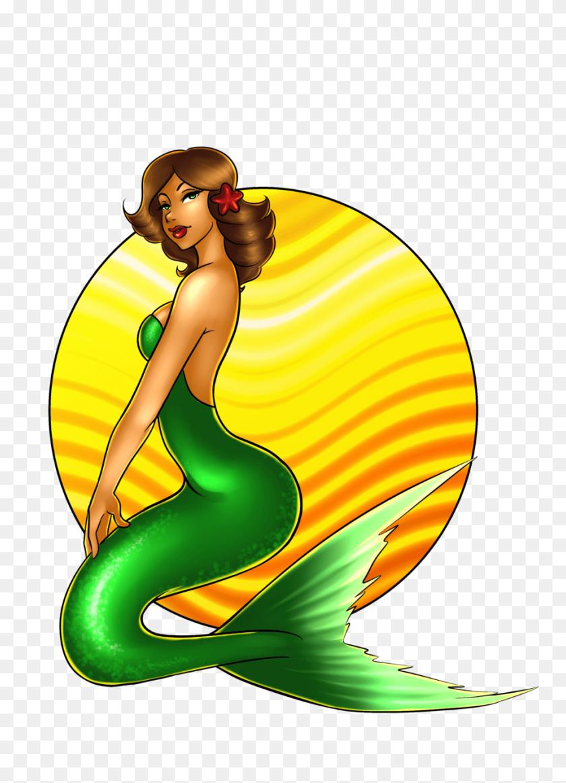 Mermaid Clipart - Cute Mermaid Clipart