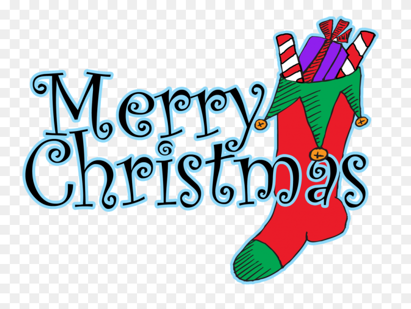 1024x752 Merry Christmas Clip Art Words - Poster Clipart