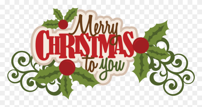 Merry Christmas Transparent Png Pictures - Merry Christmas PNG