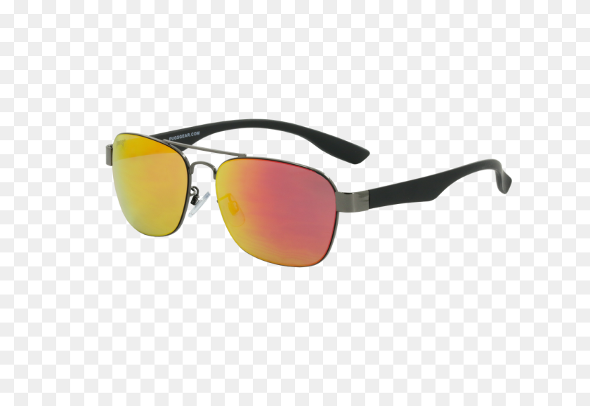 1280x853 Metal Polarized Sunglasses Pugs - M4 PNG