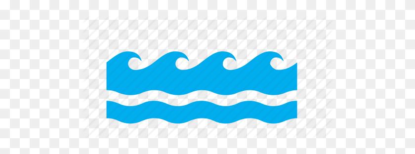 Meteorology, Rough, Sea, Seas, Wave, Waves, Weather Icon - Wave PNG