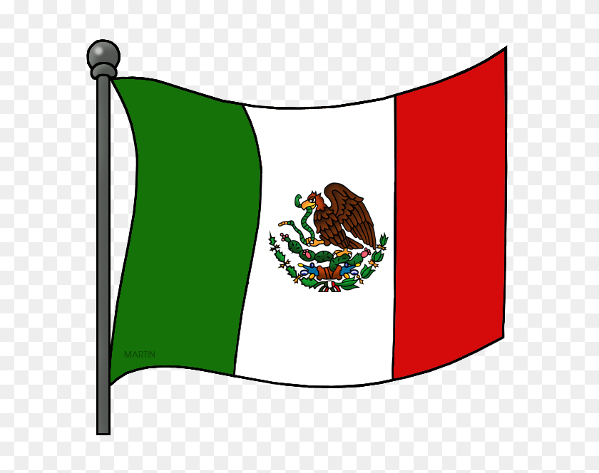 Mexico Clip Art - Mexican Flag Clipart