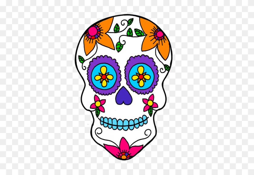 Mexico Day Of The Dead Calavera Sugar Skulls Dia De Los Muertos - Netherlands Clipart