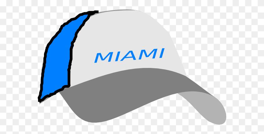Miami Cap Clip Arts Download - Miami Clipart