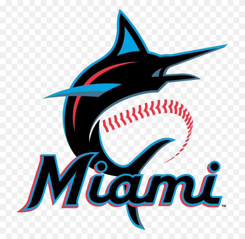 Miami Marlins - Miami Dolphins Logo PNG