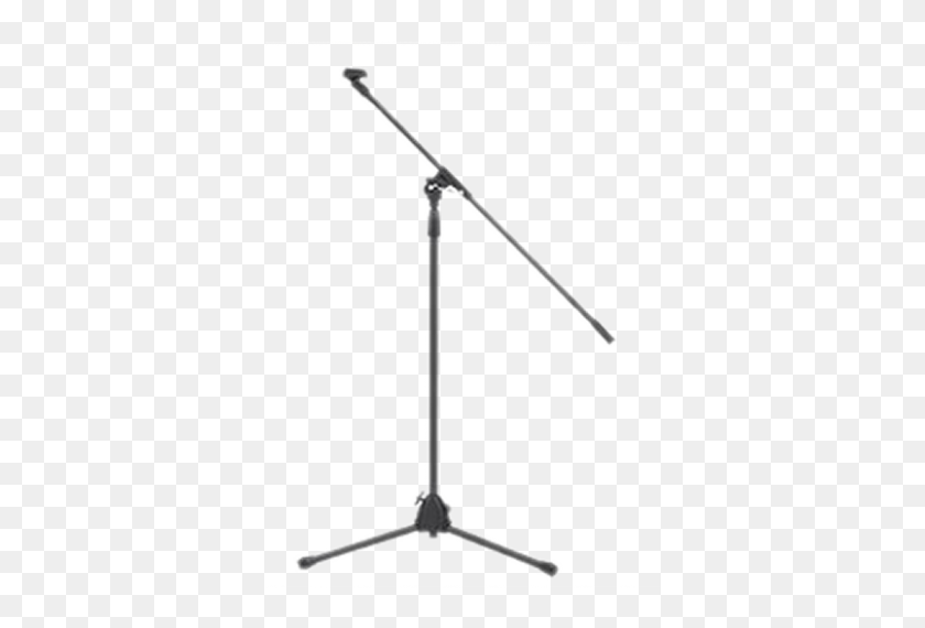 Mic Stand With Boom - Mic Stand PNG
