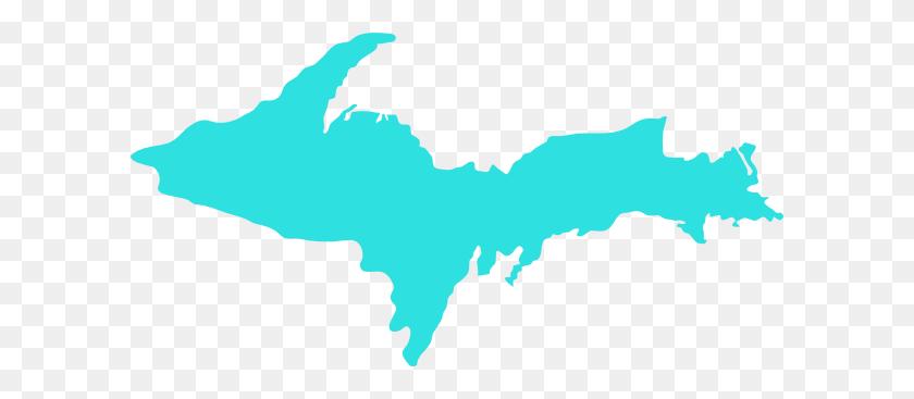 Michigan Upper Peninsula Clip Art - Peninsula Clipart