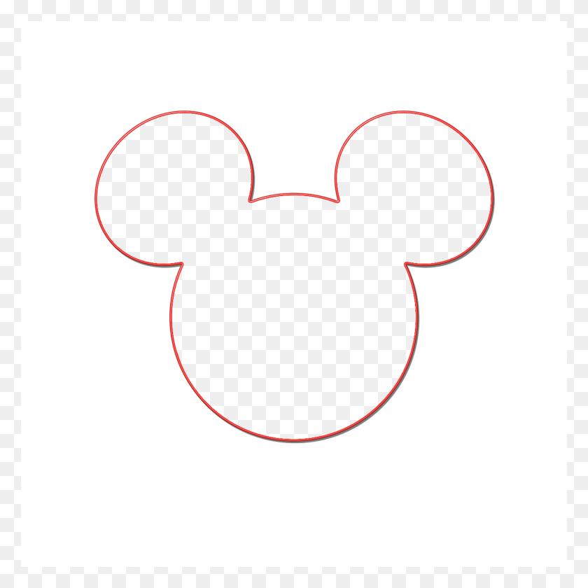 Mickey Ears Clip Art - Animal Ears Clipart