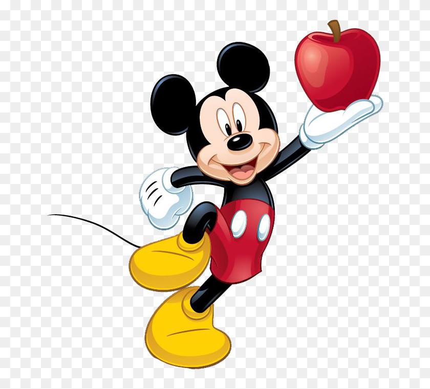671x701 Mickey Mouse Clip Art - Free Disney World Clipart