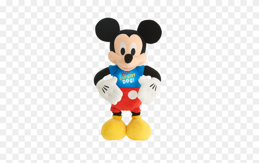 Mickey Mouse Clubhouse Hot Diggity Dance And Play Mickey - Mickey Mouse Clubhouse PNG