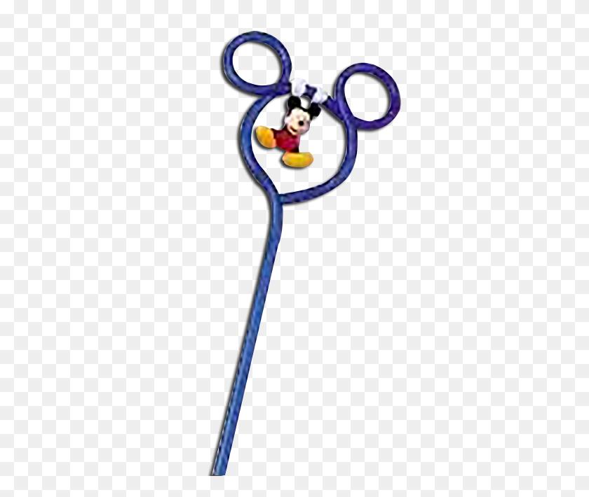 Mickey Mouse Pen Electric Blue Ears Swinging Mickey - Mickey Mouse Ears PNG