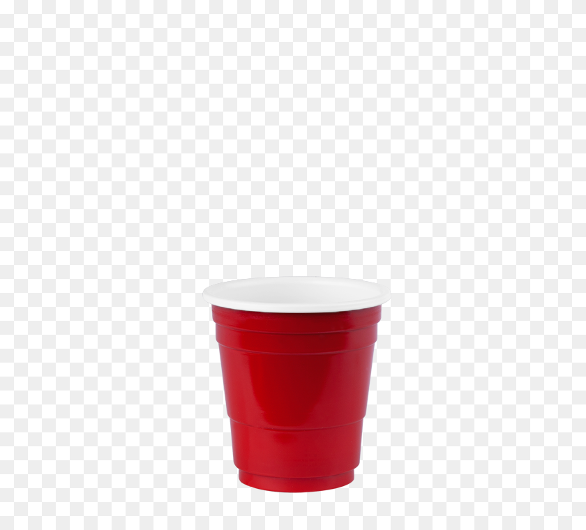Micros' Shot Cups Red Plastic Shot Glasses Redds Cups - Red Solo Cup PNG