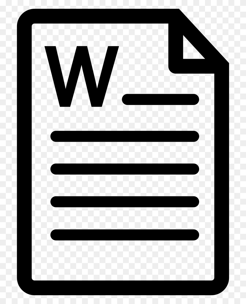 Microsoft Word Document Png Icon Free Download - Microsoft Word Clip Art Free