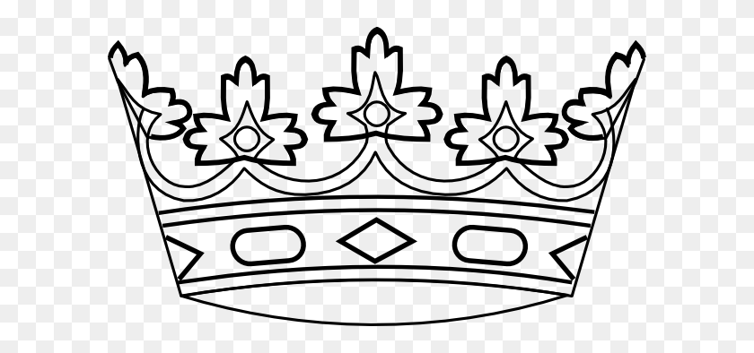 Midevil Clip Art Free Crown Clip Art - Crown Clipart Black And White