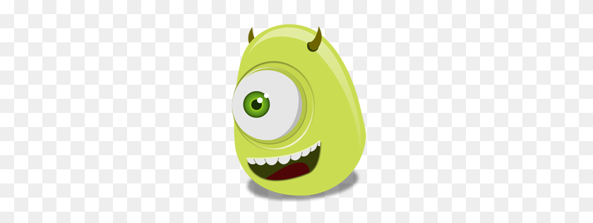 Mike Wazowski Icon Monsters Inc Iconset Iconshock - Monster Inc PNG