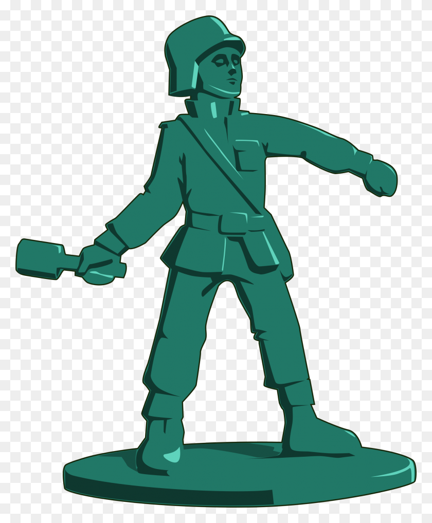 1953x2400 Military Clipart Toy Soldier - Artillery Clipart