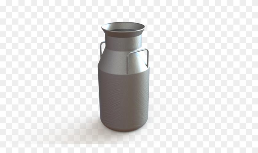 Milk Container Cad Model Library Grabcad - Milk Jug PNG