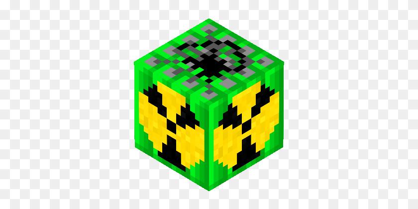 Minecraft Nuclear Bomb - Minecraft Blocks PNG