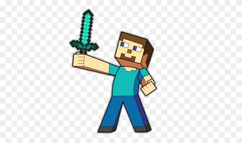 Minecraft Custom Steve Fan Art With Colour - Minecraft Steve