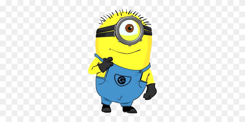 Minion! - Minion Eye Clipart