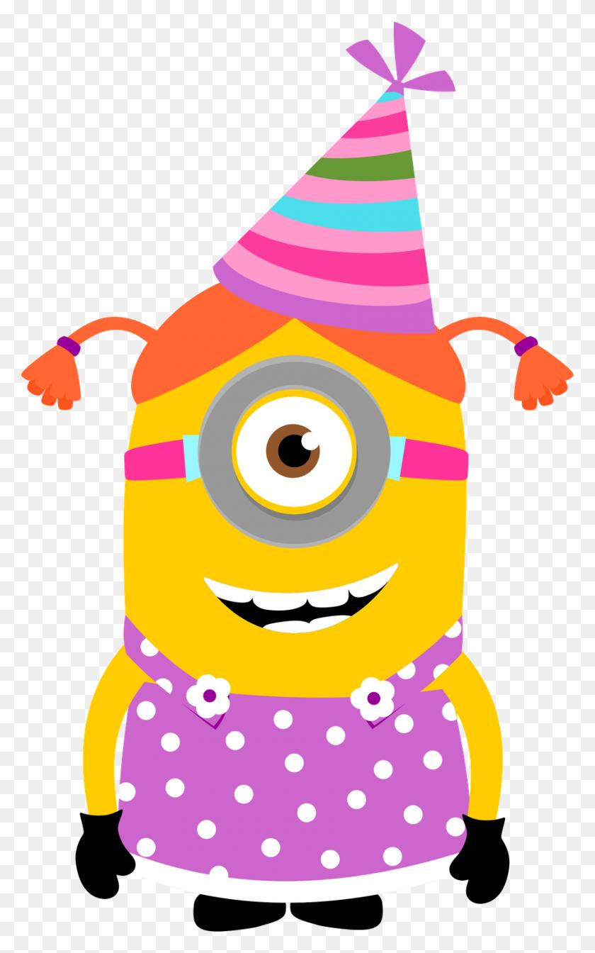 900x1482 Minions - Minion Birthday Clipart
